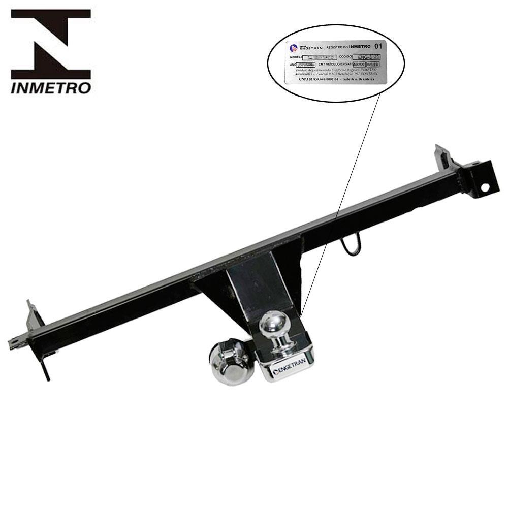 Engate Fixo HB20 Hatch X 16/19 420Kg Completo*