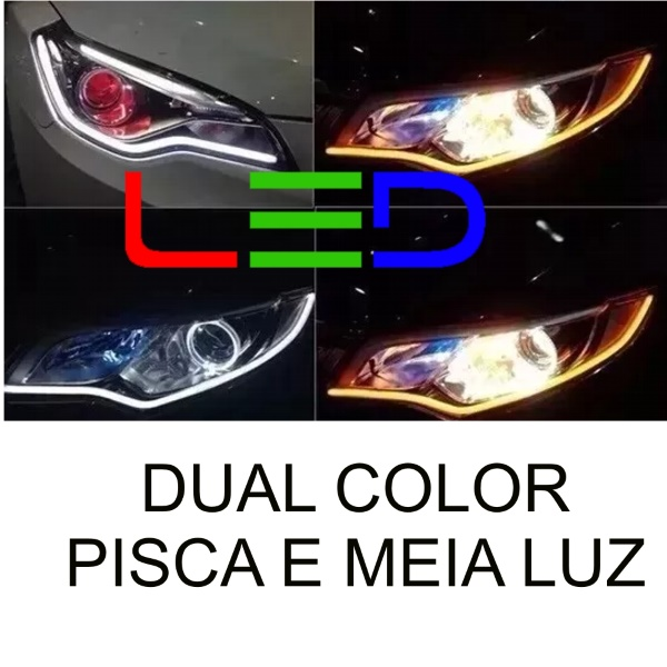 Fita Led Dual Color 3000/6000K 12V 156 Leds*
